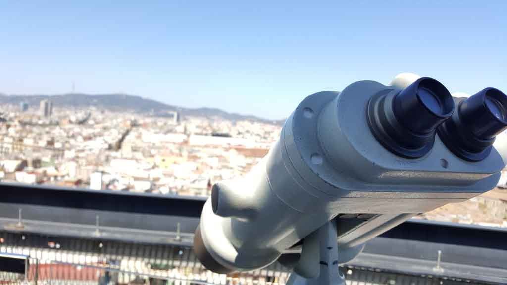 Dachterrasse in Barcelona