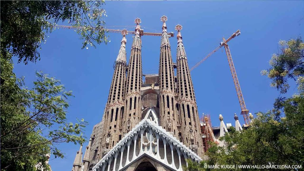 Die Türme der Sagrada Familia: Preise, Öffnungszeiten & Infos