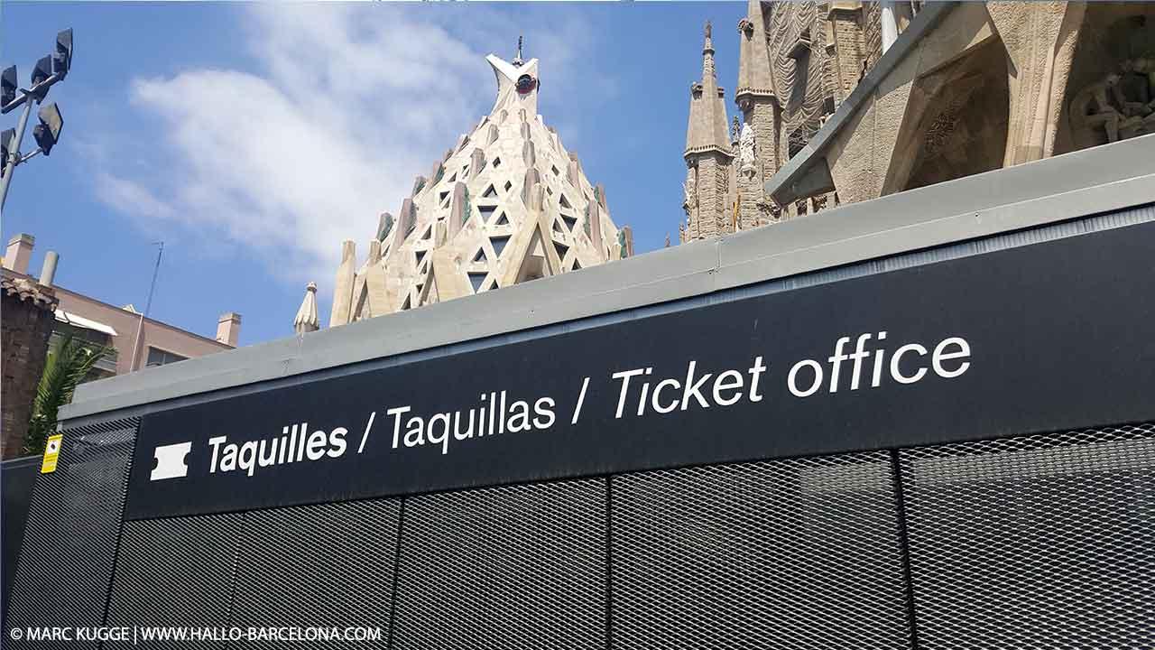 Sagrada Familia Eintrittspreise