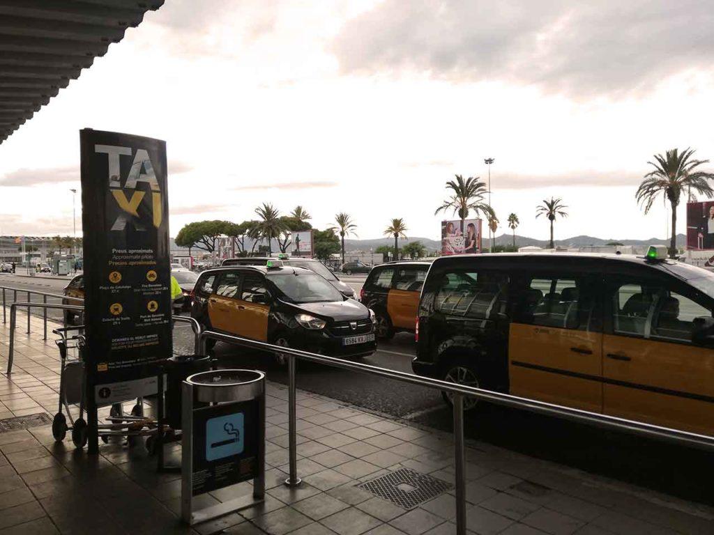 Flughafentransfer Barcelona mit Taxi