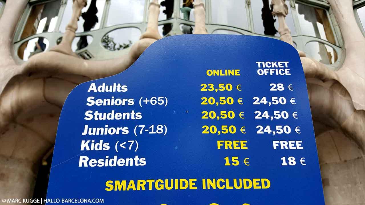 Casa Batlló Tickets