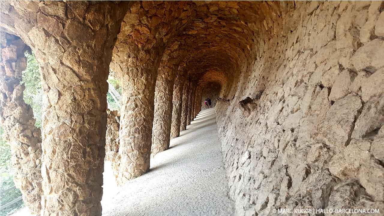 Geschichte des Park Güell in Barcelona