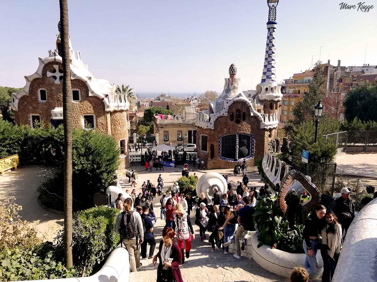 Park Guell Offnungszeiten 2021 Alle Tipps Infos Hallo Barcelona