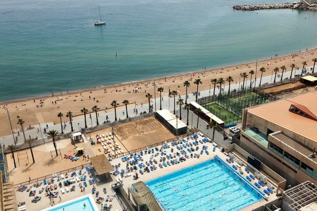 Schwimmbad Barcelona