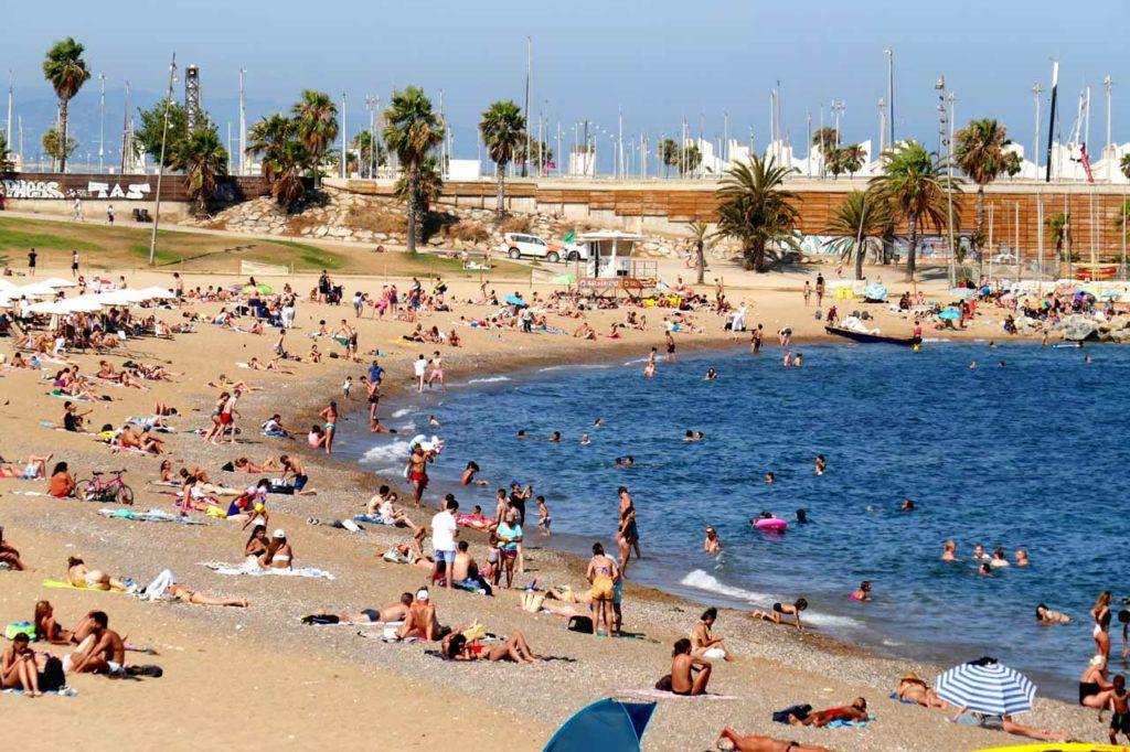 Wassertemperatur Barcelona