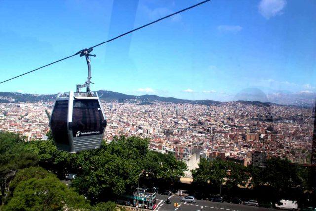Seilbahn Barcelona