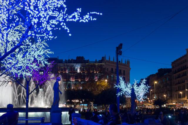 Weihnachten Silvester Barcelona