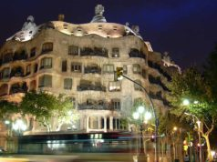 Casa Mila by Night