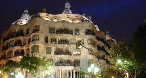 Casa Mila by Night