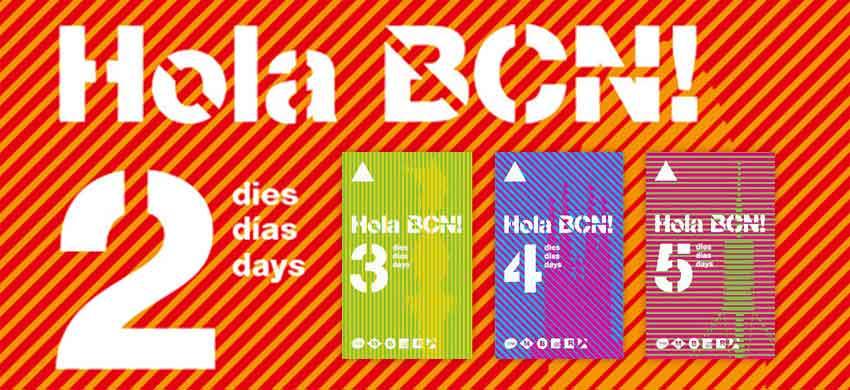 Hola BCN Karte