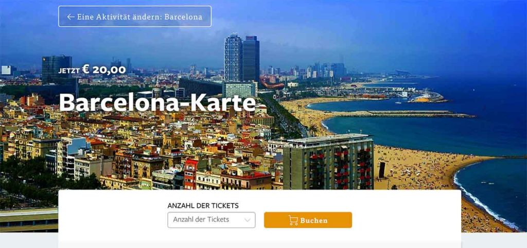 Barcelona Card | Rabattkarte für Barcelona