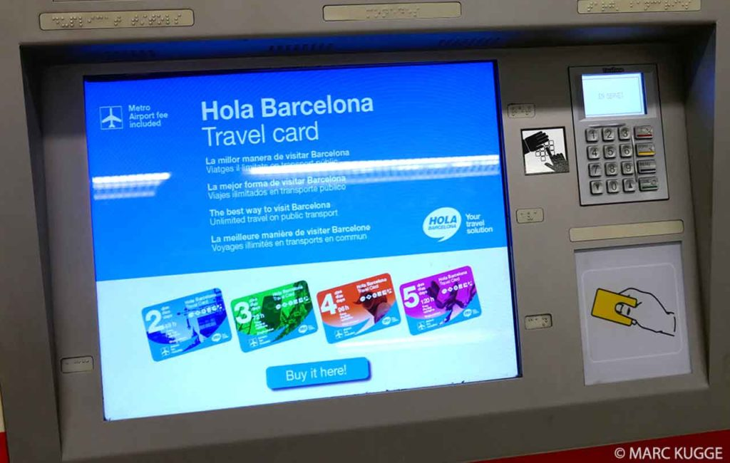Hola Barcelona Travel Card: Rabattkarte für öffentliche Verkehrsmittel