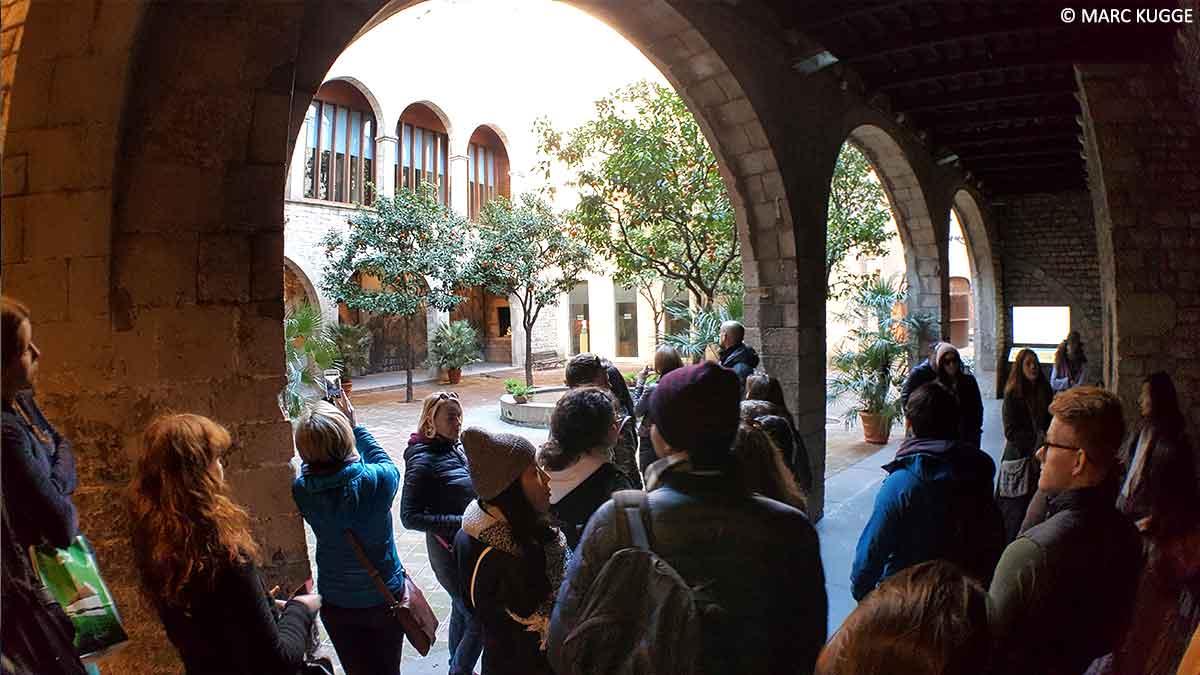 Kostenlose Stadtführung durch Barcelona
