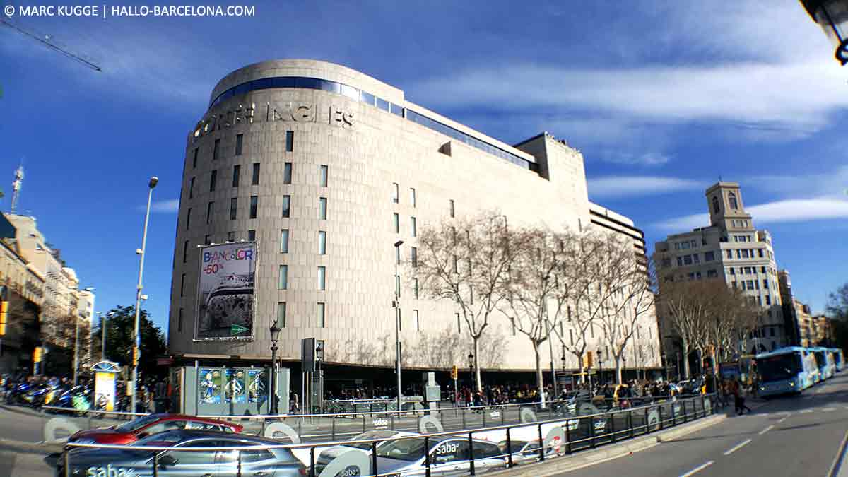 Shopping in Barcelona