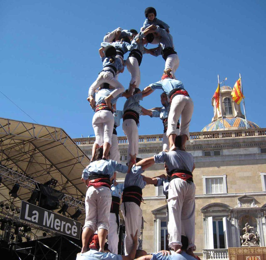 Straßenfeste in Barcelona