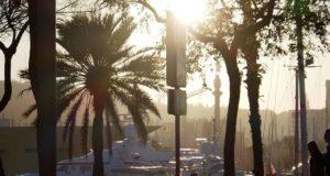 Barcelona im Winter