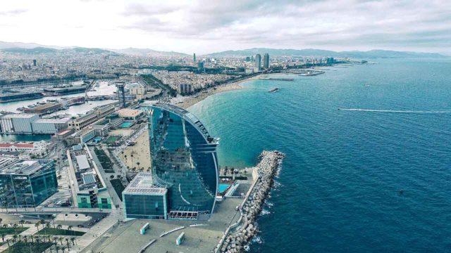 Barcelona im Oktober