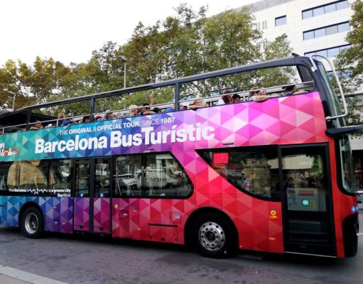 Hop-On Hop-Off Stadtrundfahrten durch Barcelona