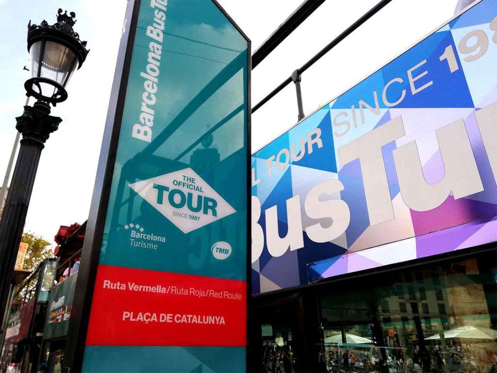 Bustouren Barcelona | Stadtrundfahrt mit dem Bus Turistic