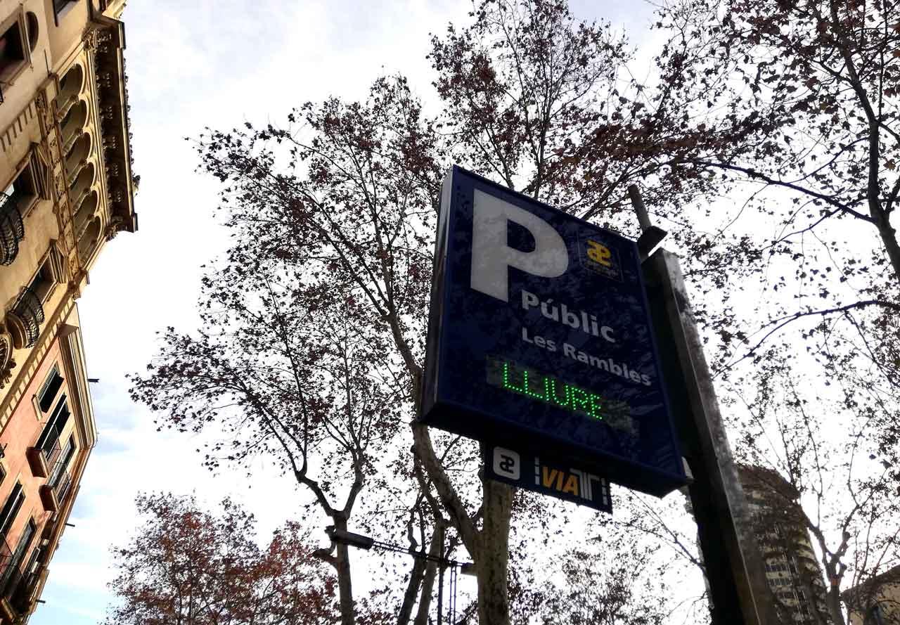 Parken In Barcelona Wo Kann Man Sicher Und Gunstig Parken