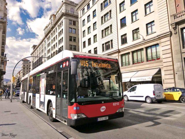 Öffentliche Verkehrsmittel Barcelona