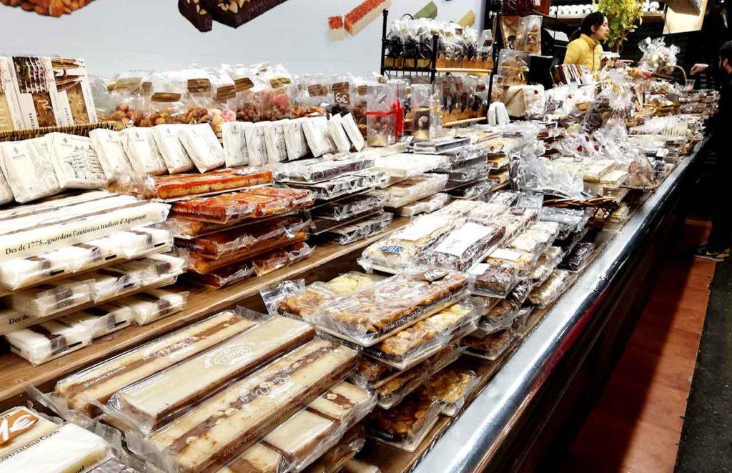 La Boqueria:Die bekannte Markthalle in Barcelona