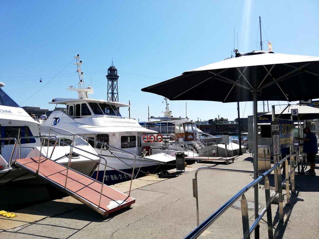Bildergalerie der Bootsfahrt